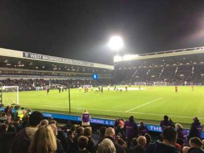 The Hawthorns, section: A6, rangée: 6