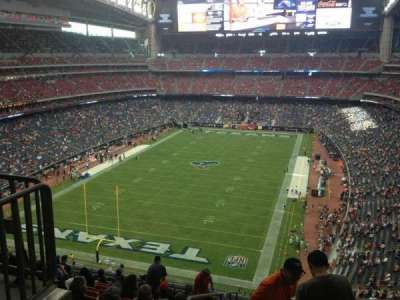 NRG Stadium, section: 544, row: M, seat: 22