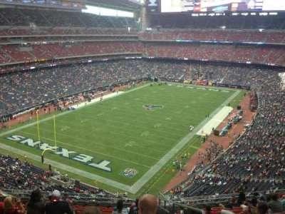 NRG Stadium, section: 543, row: M, seat: 1