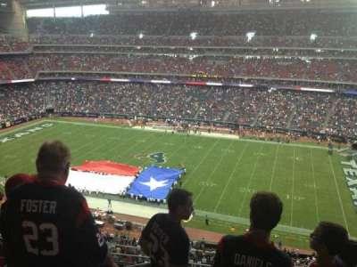 NRG Stadium, section: 531, row: M, seat: 22