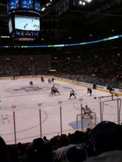 Air Canada Centre, section: 114, row: 17, seat: 15