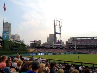 Comerica Park section 146