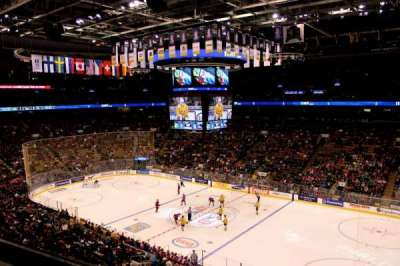 Air Canada Centre, section: 319, row: 1, seat: 13