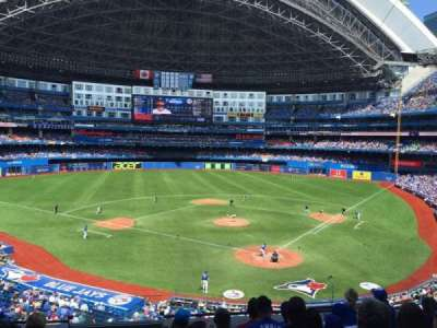 Rogers Centre, section: 225R, row: 7, seat: 1