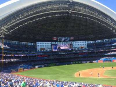 Rogers Centre, section: 126, row: 40, seat: 103