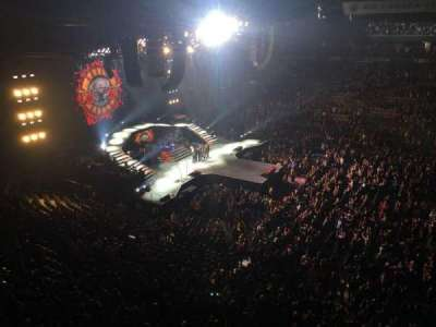 Air Canada Centre, section: 309, row: 1, seat: 7
