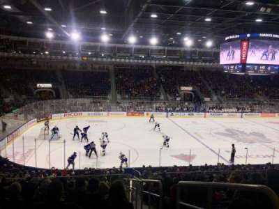 Ricoh Coliseum, section: 112, row: Q, seat: 1
