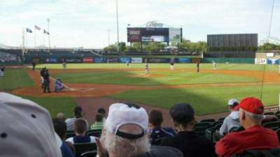 Louisville Slugger Field, section: 113, row: K, seat: 3