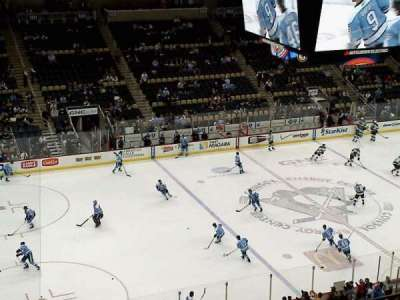 PPG Paints Arena, section: 222, row: e, seat: 13