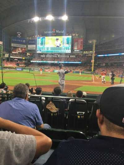 Minute Maid Park, section: 116, row: 7, seat: 10