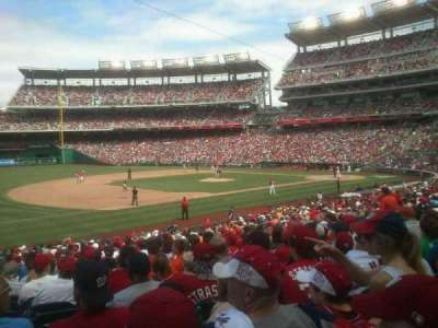 Nationals Park, section: 113, row: ff, seat: 18