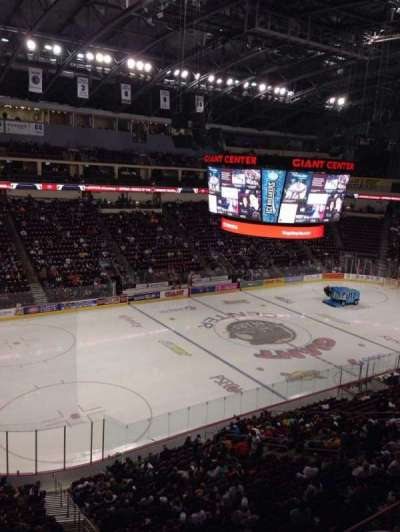 Giant Center, section: 204, row: A, seat: 1