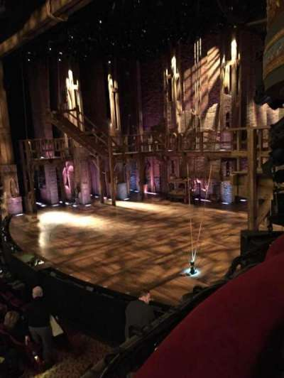 Richard Rodgers Theatre, section: Box, row: D, seat: 1