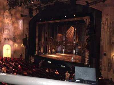 Orpheum Theatre (San Francisco), section: Loge, row: A, seat: 10