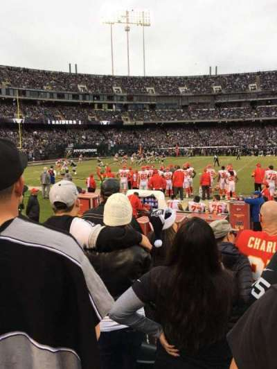 Oakland Alameda Coliseum section 143