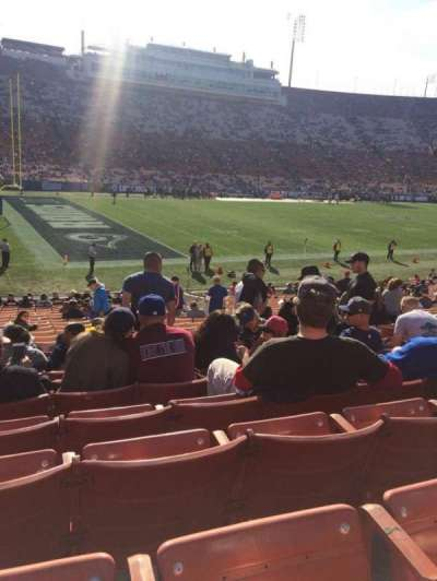 Los Angeles Memorial Coliseum, section: 25, row: 25, seat: 11
