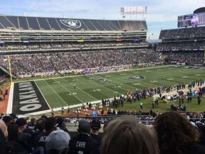 Oakland Alameda Coliseum, section: 222, row: 10, seat: 4