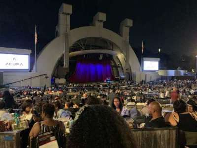 Hollywood Bowl section Terrace Box 1464