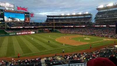 Nationals Park, section: 204, row: C, seat: 4