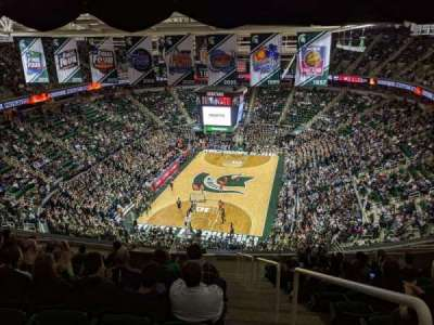 Breslin Center, section: 235, row:  14, seat: 1