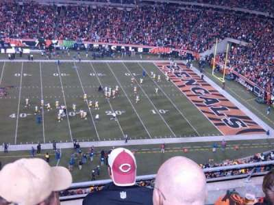 Paul Brown Stadium, section: 339, row: 5, seat: 11