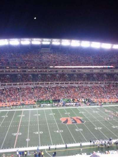 Paul Brown Stadium section 342