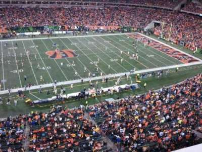 Paul Brown Stadium, section: 342, row: 1, seat: 4