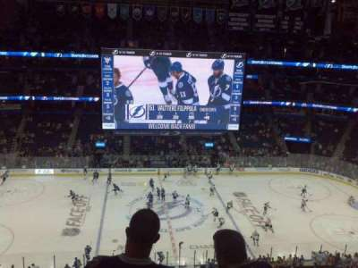 Amalie Arena section 316