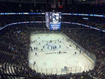 Amalie Arena section 325