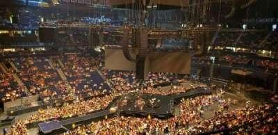 Bridgestone Arena, section: 306, row: B, seat: 1