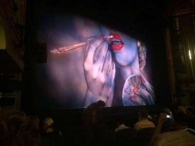 Nederlander Theatre, section: ORCH LEFT, row: L, seat: 17