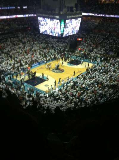 Spectrum Center, section: 230, row: J, seat: 10