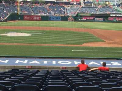 Nationals Park, section: 129, row: V, seat: 13