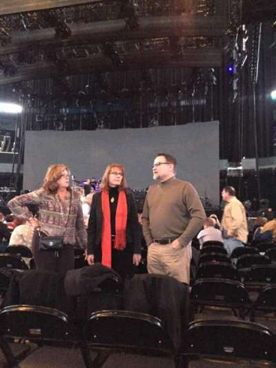 Spectrum Center, section: F1, row: N, seat: 8