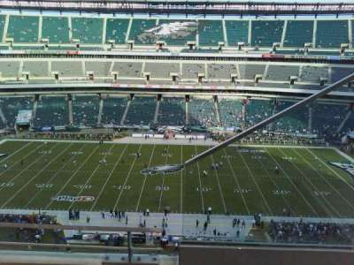 Lincoln Financial Field section 201