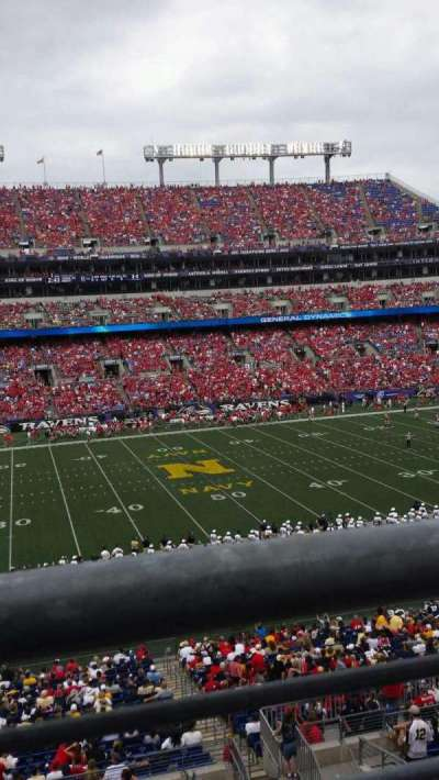 M&T Bank Stadium, section: 228, row: 1, seat: 7