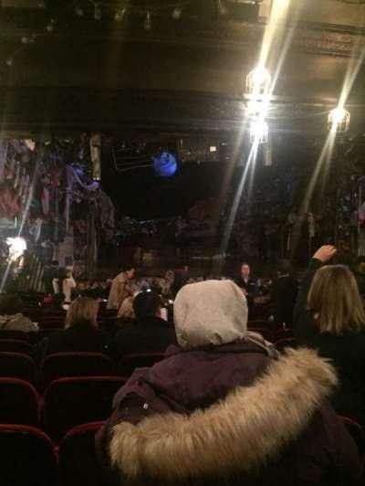 Neil Simon Theatre, section: Ochestra, row: T, seat: 12