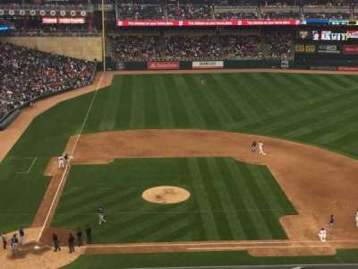 Target Field section 210