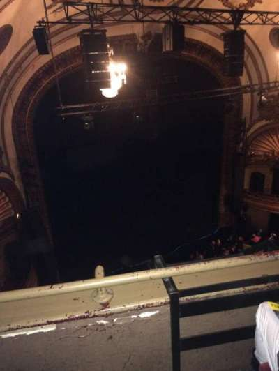 Palace Theatre (Broadway) section Balcony left