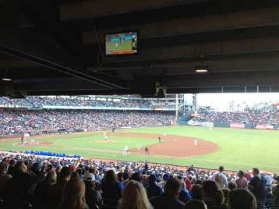 AT&T Park, section: 105, row: 41, seat: 2