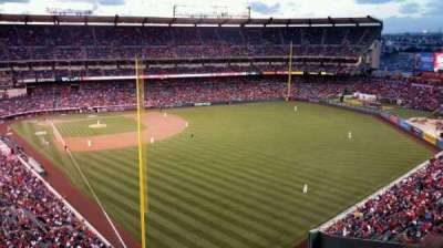 Angel Stadium, section: V538, row: J, seat: 11