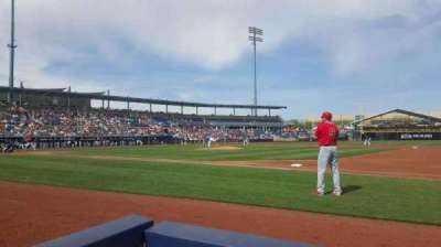 Peoria Sports Complex, section: 116, row: B, seat: 1