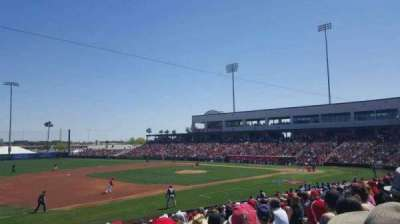 Tempe Diablo Stadium, section: 3, row: W, seat: 9