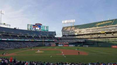 Oakland Alameda Coliseum, section: 112, row: 22, seat: 10