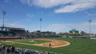 HoHoKam Stadium, section: 215, row: 5, seat: 4