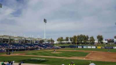 Maryvale Baseball Park, section: 111, row: P, seat: 20