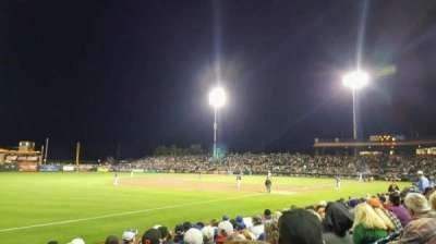 Scottsdale Stadium, section: 125, row: H, seat: 18
