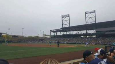 Salt River Fields, section: 121, row: 3, seat: 12
