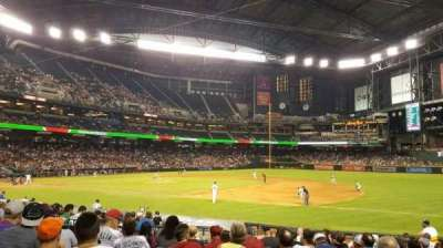 Chase Field, section: 114, row: 19, seat: 10