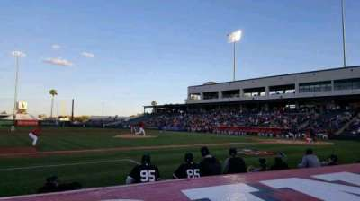 Tempe Diablo Stadium, section: 5, row: E, seat: 5